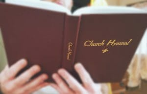 Red Back Hymnal Exhibit